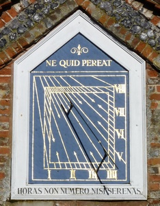 Sun Dial on the Causeway, Marlow