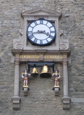 Carfax Tower Clock, Oxford